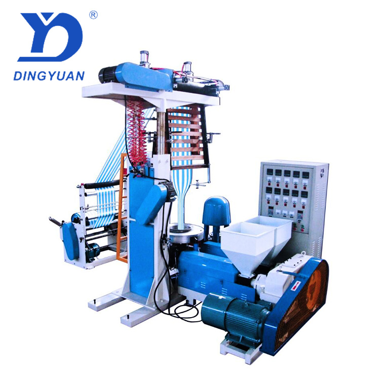 High quality fully auto hdpe/ldpe/lldpe film blowing machine