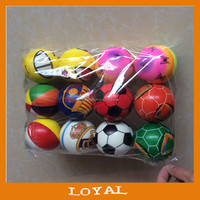 7.2cm Custom Pu Foam Anti Stress Ball toy ball mini pu foam balls for promotion
