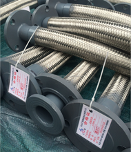 Stainless Steel Annular Corrugated Metallic Flexible Hoses With Stainless Steel Wire Braiding Hoses