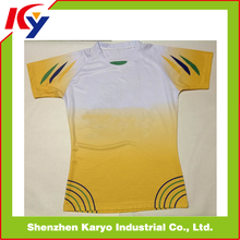 2014 Hot Custom Made Sublimation League Rugby Jersey