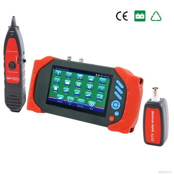 "Noyafa NF-711A NF-711 7"" CCTV Tester Touch Screen IP Camera Tester security for Camera Cvbs/Poe/Wifi/HDMI In&Out"
