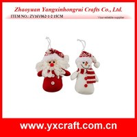 Chrismas decoration snowman and santa for promotion