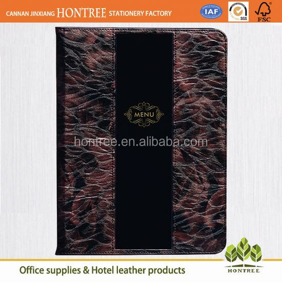 quality guarantee factory directed sale model of menu card for restaurant