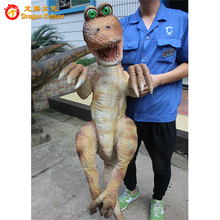 Indoor playground equipments robotic dinosaur puppet for exhibition,mechanical puppets