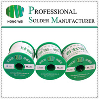 Sn99.3Cu0.7 lead free flux core solder wire no clean