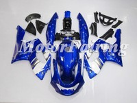 Blue White ABS motorcycle fairings for YZF 600R 97-07 Aftermarket Fairings Set Body Kits YZF600R