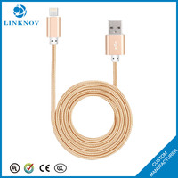 Creative 2 in 1 usb cable high speed charg data usb cable for ios android mobile devices
