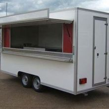 mobile food truck fast food truck for sale / croissant snack van