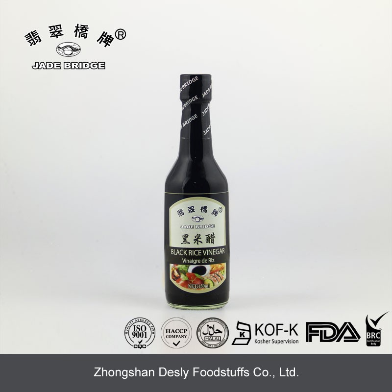 Chinese Natural Brewed rice Balsamic Vinegar dressing 1000ml For Restaurant