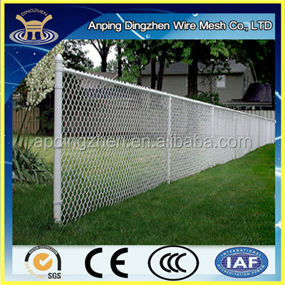 China pvc coated chain link fence for sale factory