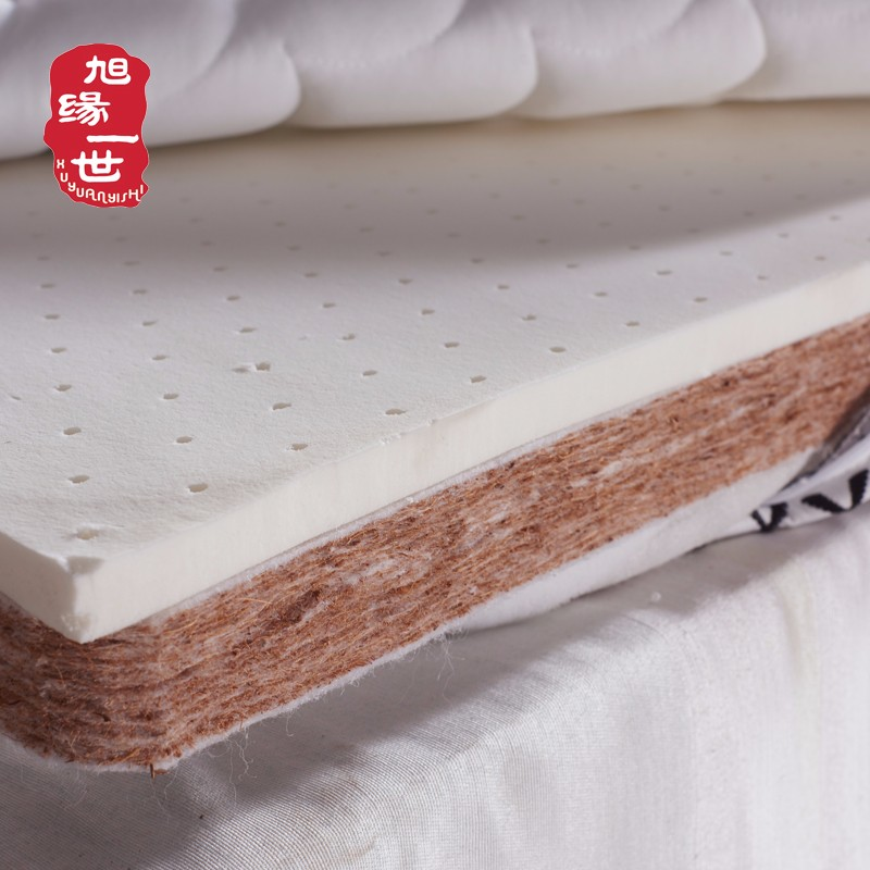 Twin queen king sizes high grade 4D fabric cover natural coconut latex adult bed mattress - Jozy Mattress   Jozy.net