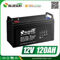 Bluesun deep cycle battery 12v 1200mah rechargeable batteries for solar system