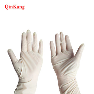 Surgical supply powder or powder free exam disposable latex medical glove