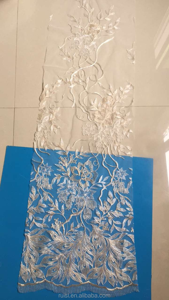 2017 new ready special application stock snowflake lace
