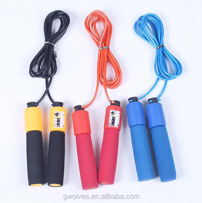 Automatic bungee Jumping skipping rope with counter wholesale