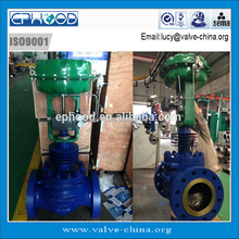 WC9 Pneumatic Muti Holes Steam Gas Water Flow Control Valve