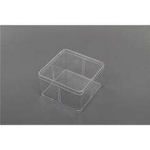 New coming comfortable design big square box plastic case