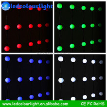 12V 0.7W led crystal disco ball light waterproof led light ball for bar club stage outdoor dmx