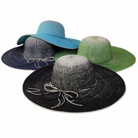 Wholesale Cheap Colorful Women Paper Straw hats