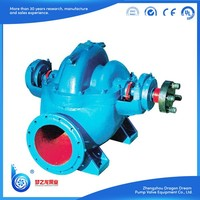 High pressure single stage double suction deep suction split centrifugal water pump