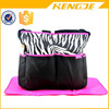zebra stripe large baby stroller hanging diaper bag