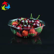 New Design Biodegradable Disposable Clear Plastic Fruit Tray