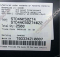 ( N-CHANNEL Power MOSFET 500V 3A ) STD4NK50ZT4 STD4NK50