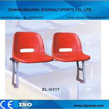 outdoor audience plastic stadium seating