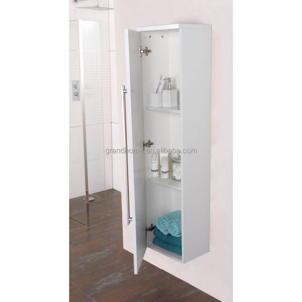 Vente chaude chinois MDF salle de bains en bois armoire à