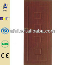 Zhejiang AFOL High Quality Cabinet Doors In PVC Vinyl Wrap With Competitve Price
