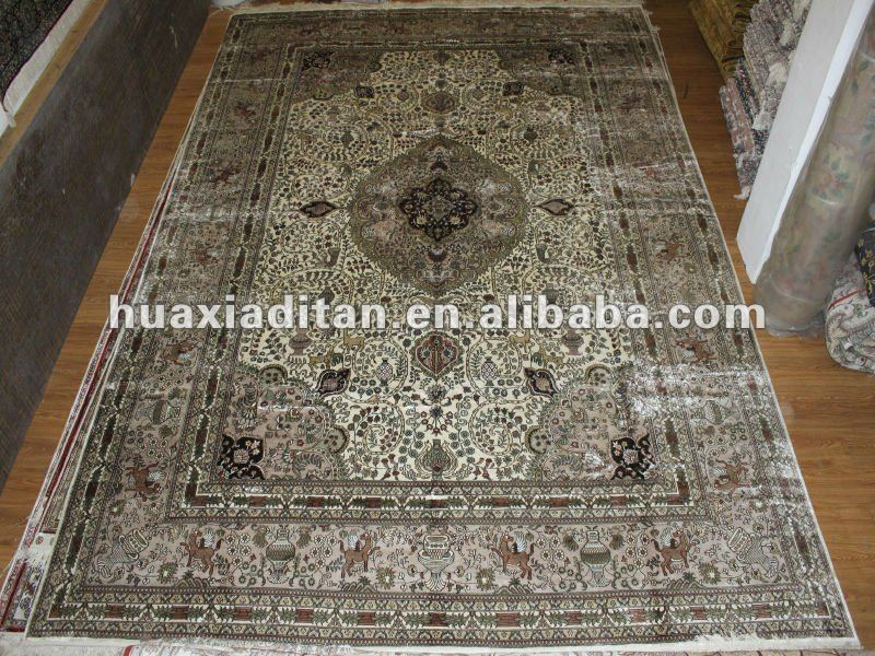 large silk area rugs 100% natural silk