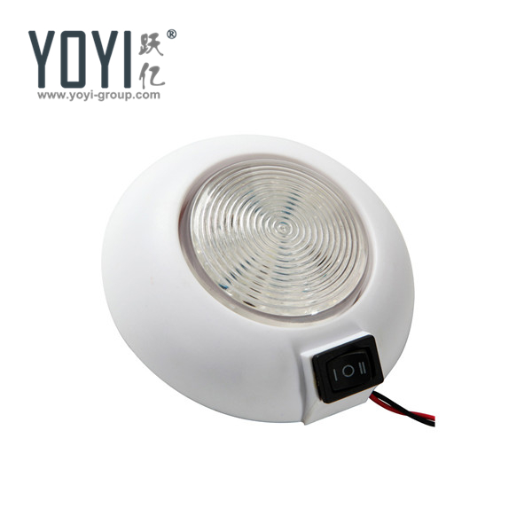 YDR4011 4'' LED White Round Interior Lamps LED Dome Light