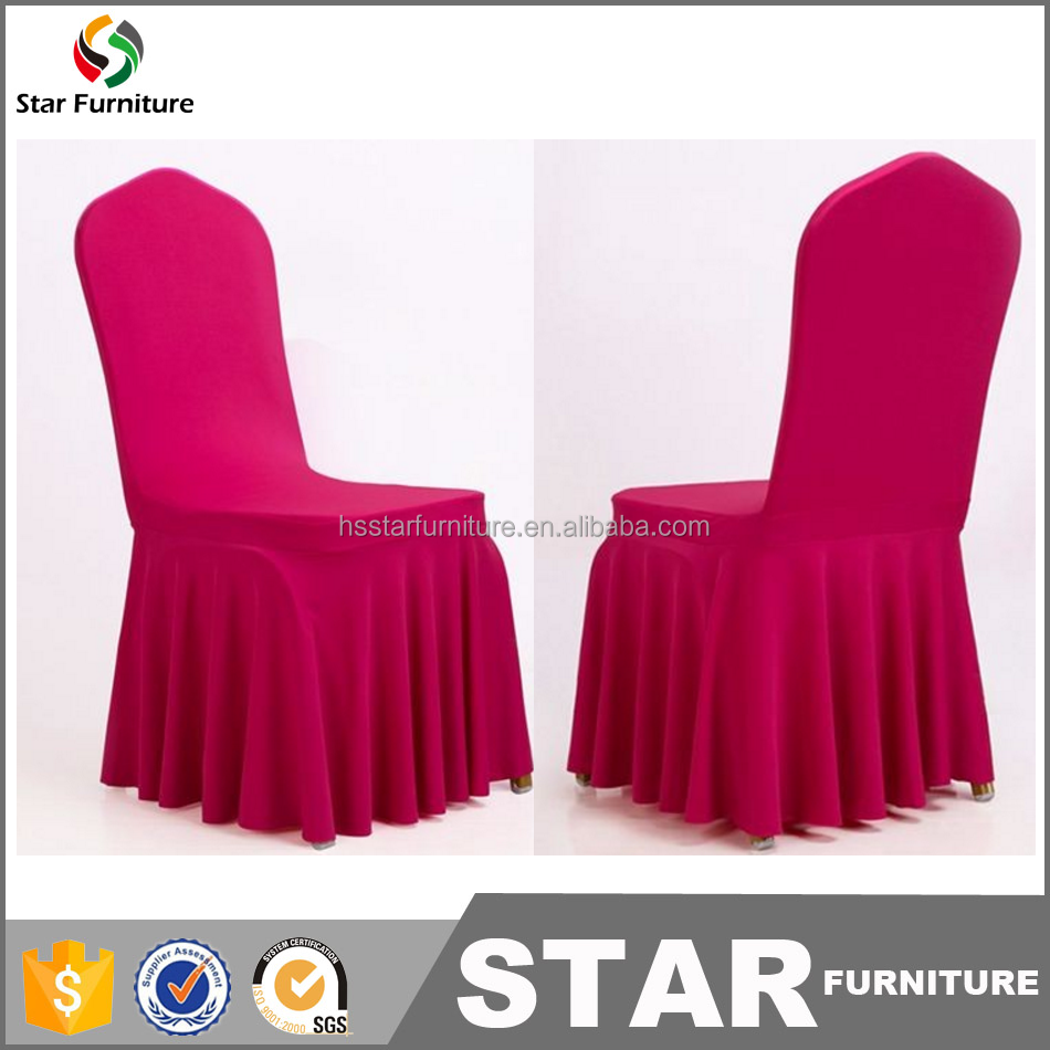 stretch polyester wedding chair covers / outdoor chair covers / conference chair covers