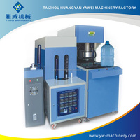Yawei semi automatic 120Liters Blow mold machine plastic vacuum forming machine