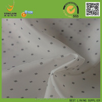 polyester 190T taffeta diamonds design print lining fabric for russin makert 2015 hot product