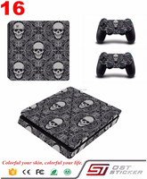 High Quality Whosale Console Skin For PS4 Slim Controller Vinyl Sticker For Playstation 4 Slim