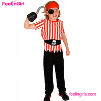 Pirate Set Halloween Suppliers Wholesale Boys Caribbean Carnival Costume
