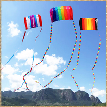 Single line easy flying rainbow parachute kite