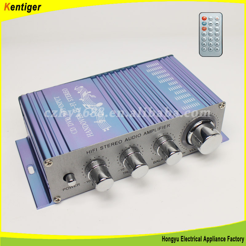2 channel W/FM power amplifier