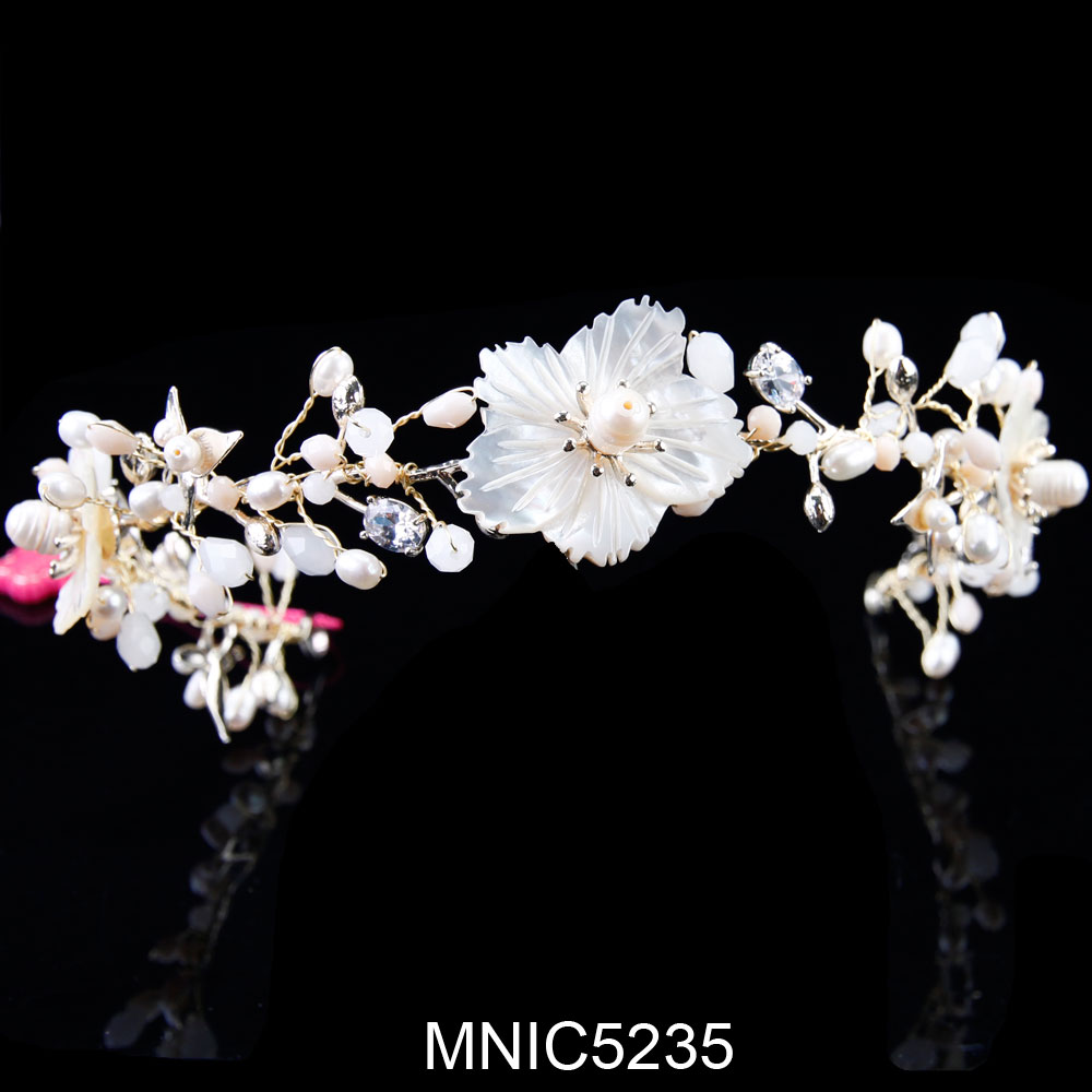 Beautiful Floral Headpiece Bridal Hair Flowers Elegant Flower Headpiece Flowers For The Brides Hair