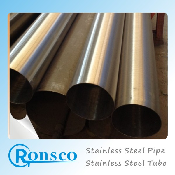 cold rolled decorative din 2462 stainless steel pipe