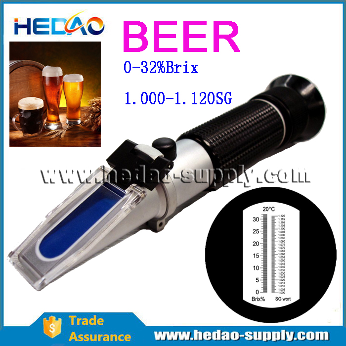 China homebrewed manufacturer cheapest beer refractometer