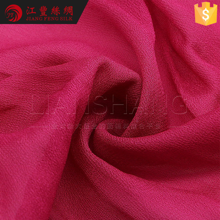 J3 Rayon Crepe De Chine T Shirts100% Crinkle Rayon Fabric Wholesale