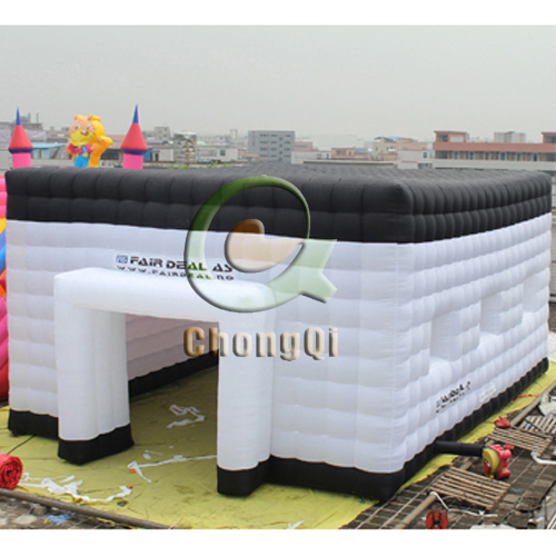 large durable inflatable cube tent with good price