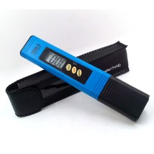 Portable Digital TDS-3 Pen Water Quality Purity Tester TDS Meter Water PH Meter Filter Measuring with Titanium alloy probe