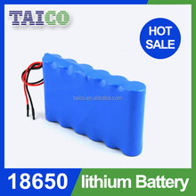 Technology Rechargeable Lithium Ion 3.7v 12000mah li-ion 18650 battery In Parallel
