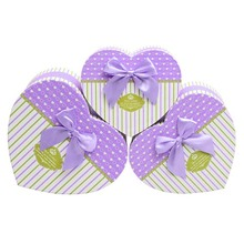 Oem Small Heart Shaped Gift Box Wedding Box Candy Gift