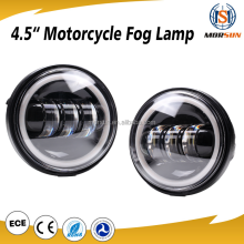 2017 Motorcycle fog light with halo ring harley LED Auxiliary Spot Fog Passing Light for harley motorcycle