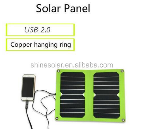 Flexible Solar Panel Charger 10W USB Battery Foldable Folding Solar Battery
