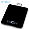 Electronic 15kg/33lb Hanging weight coffee scale with timer and clock function